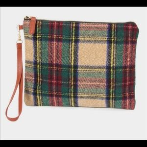Plaid Clutch (Fully Lined)
